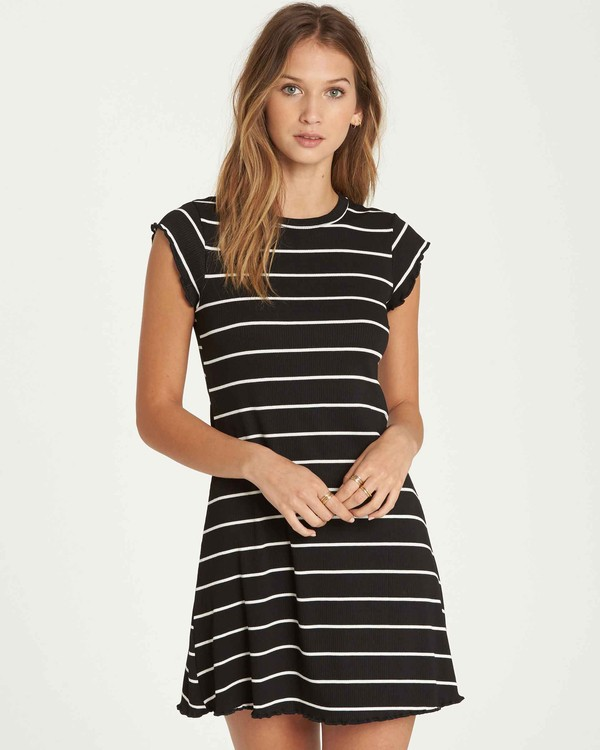0 Right Move Mini Dress Black JD01QBRI Billabong