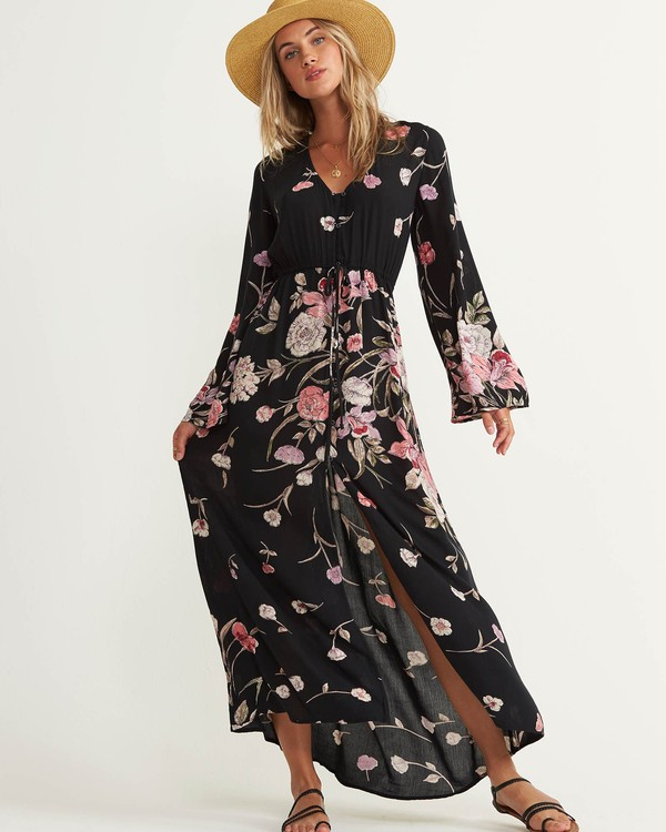 0 Desi Kimono Maxi Dress  JD06QBDE Billabong
