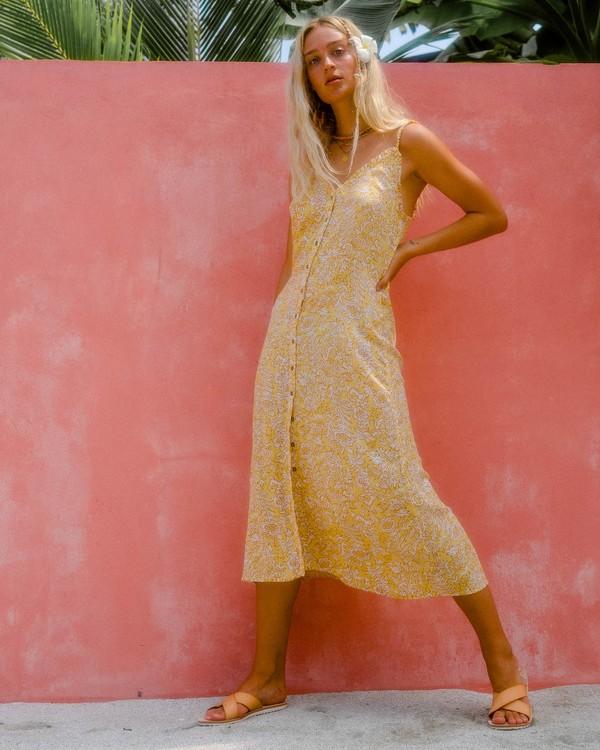 0 Sweet Edges Dress Yellow JD06VBSW Billabong