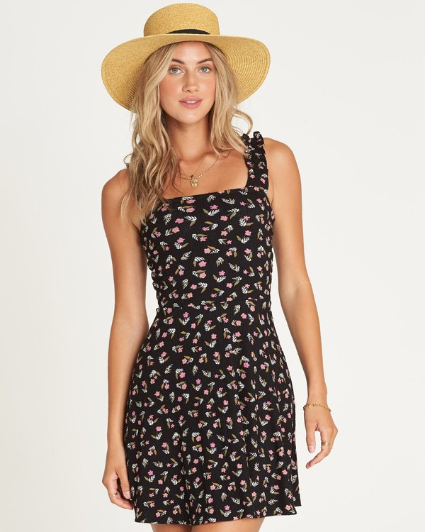 0 Hey Bonita Mini Dress Black JD13UBHE Billabong