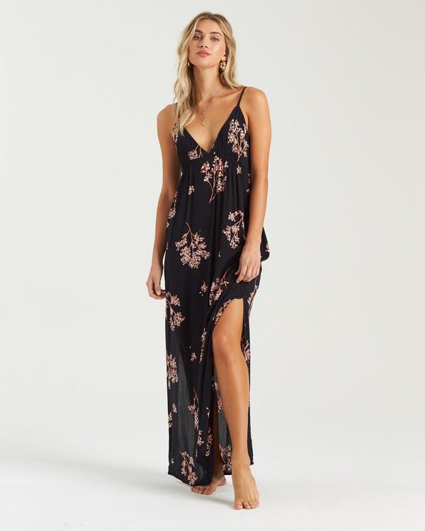 0 Sunbeams Maxi Dress Black JD153BSU Billabong