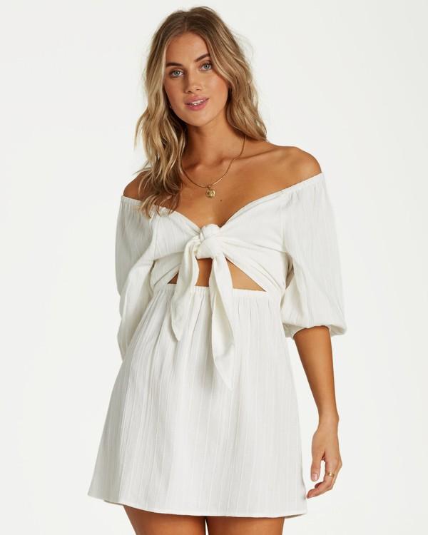 0 Heart Ties Dress White JD20VBHE Billabong