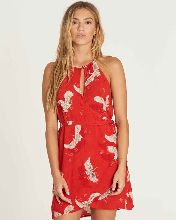 0 Aloha Baby Wrap Dress  JD21PBAL Billabong