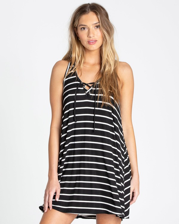 0 Easy Dreamin Tank Dress Black JD23TBEA Billabong