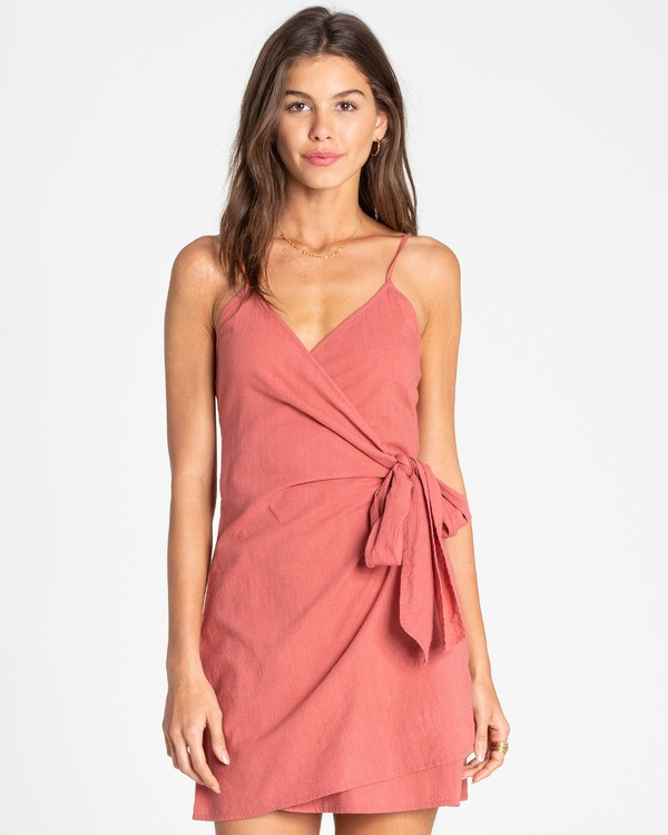 0 Island Wrap Wrap Dress  JD27TBIS Billabong