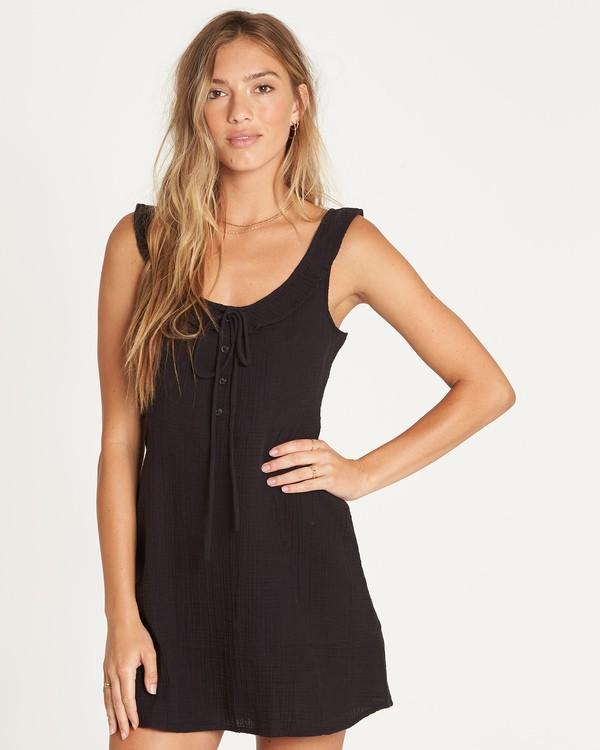 0 Skip It Mini Dress Black JD34UBSK Billabong
