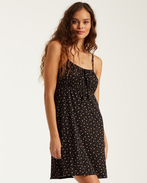 0 Flirt Much Dress Black JD412BFL Billabong