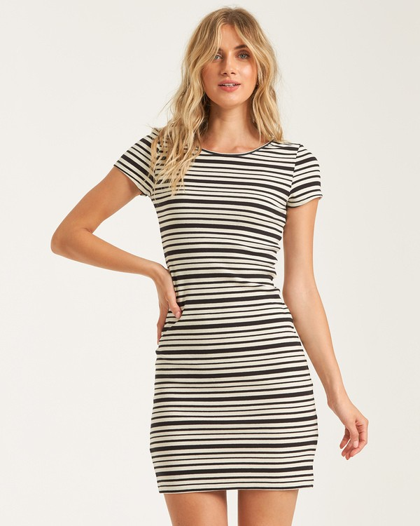 0 Shore Thing Dress Black JD422BSH Billabong