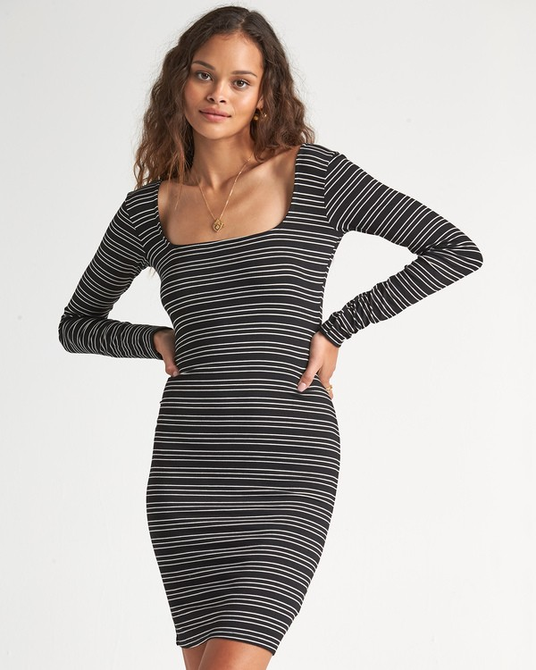 0 Same Song Dress Black JD511BSA Billabong