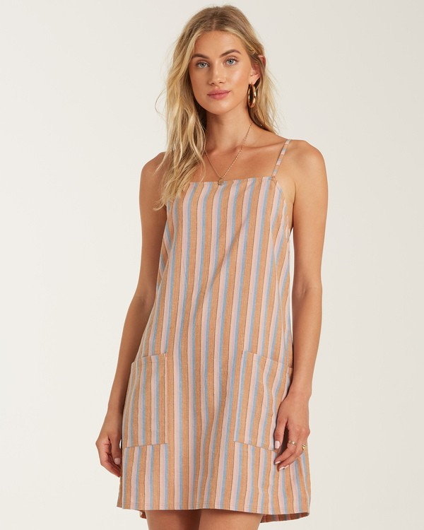 0 Straight Round Dress Grey JD902BST Billabong