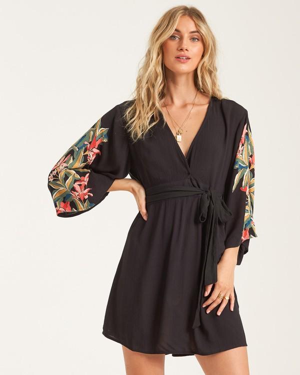 0 Havana Nights Dress Black JD932BHA Billabong