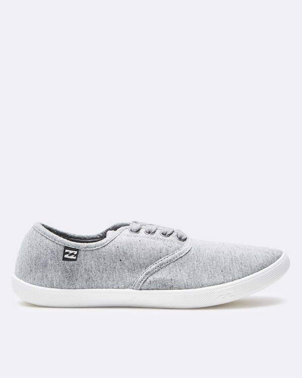 0 Addy Lace Up Shoe Grey JFCTQBAD Billabong