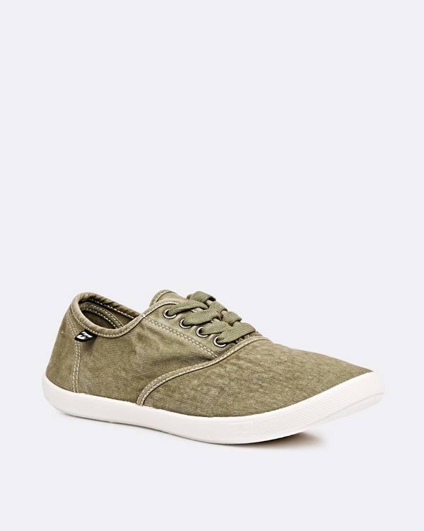 0 Addy Lace Up Shoe Green JFCTQBAD Billabong