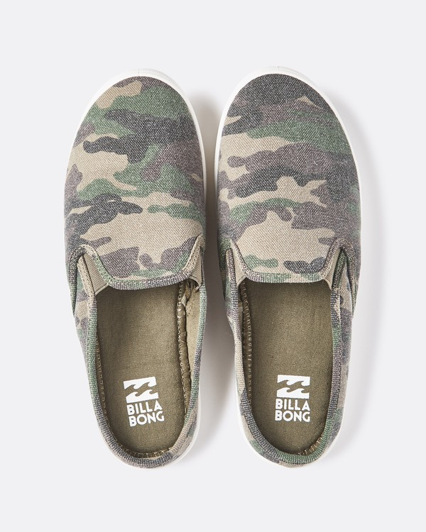 0 Be Free Slip-On Shoe Green JFCTQBBE Billabong