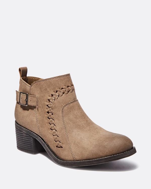 0 Take A Walk Ankle Boot Beige JFCTQBTA Billabong