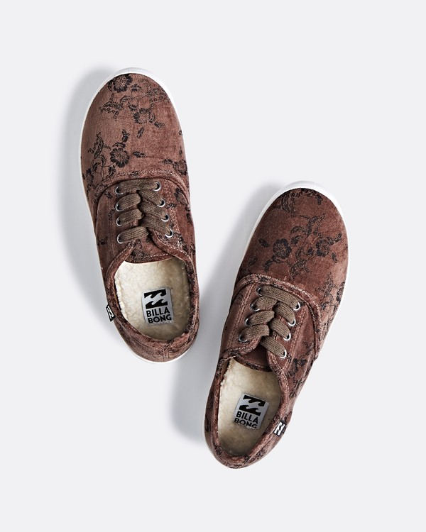0 Addy 2 Low Top Shoes Brown JFCTSBAD Billabong