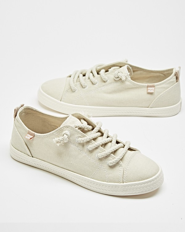 0 Marina Canvas Shoes White JFCTTBMA Billabong