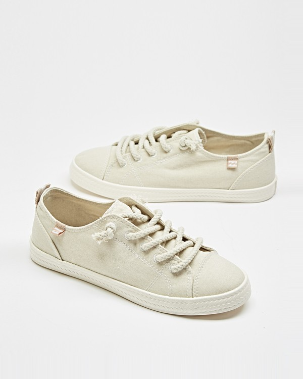 0 Marina Canvas Shoes White JFCTTBMA Billabong