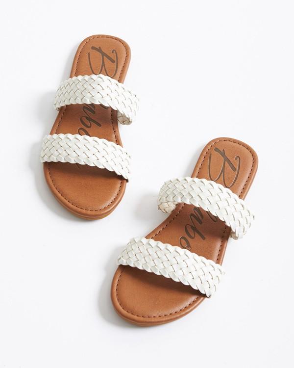 0 Endless Summer Slide Sandal White JFOT1BEN Billabong