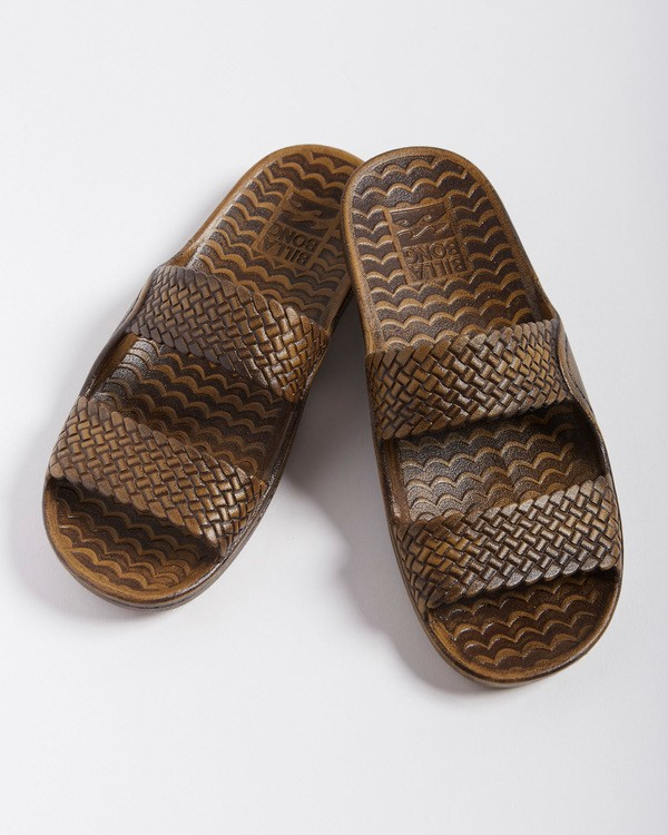 0 Tidal Wave Slide Sandal Brown JFOT1BTI Billabong