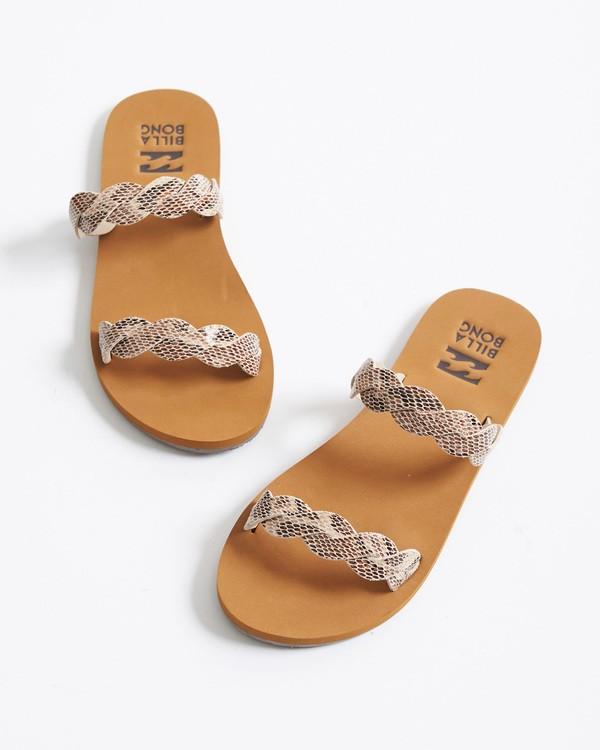 0 Twisty Sandal Beige JFOT2BTW Billabong