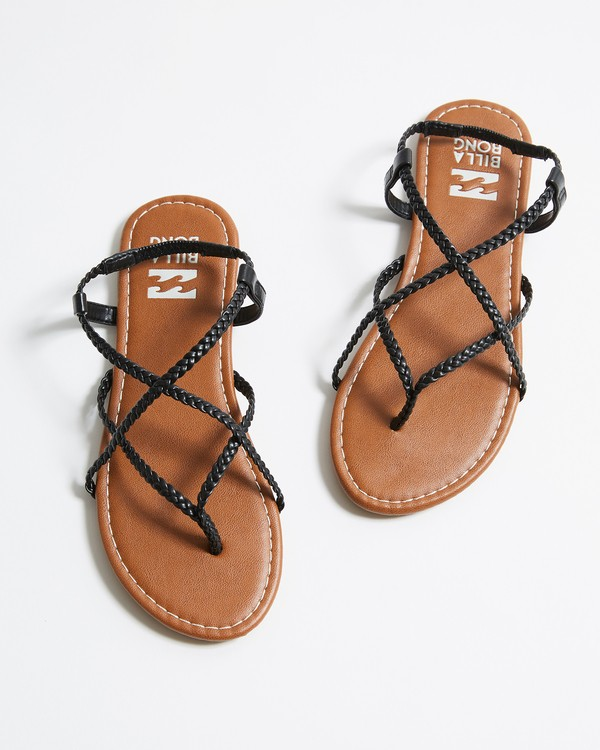 0 Crossing Over Sandal Black JFOTNBCR Billabong