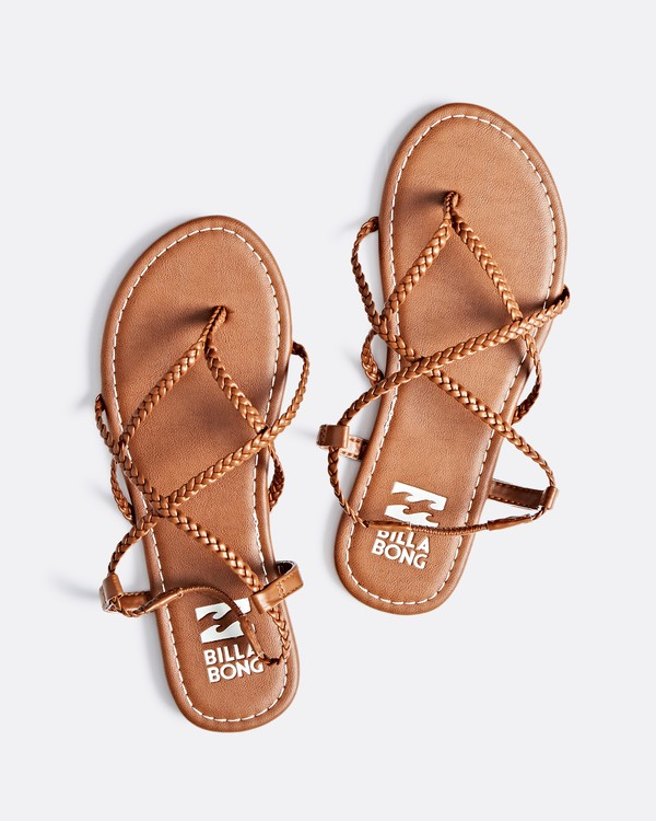 0 Crossing Over Sandal Brown JFOTNBCR Billabong