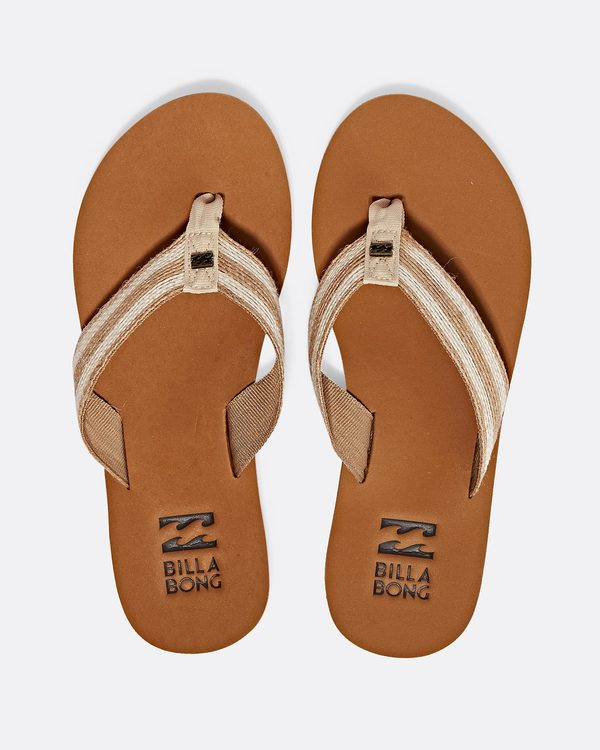 0 Baja Sandals Beige JFOTPBBA Billabong