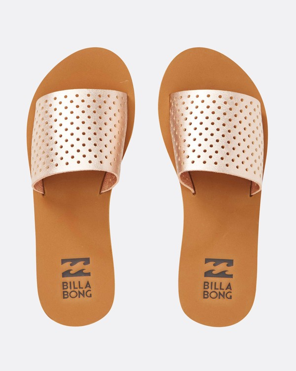 0 One Way Slide Sandal Orange JFOTQBON Billabong