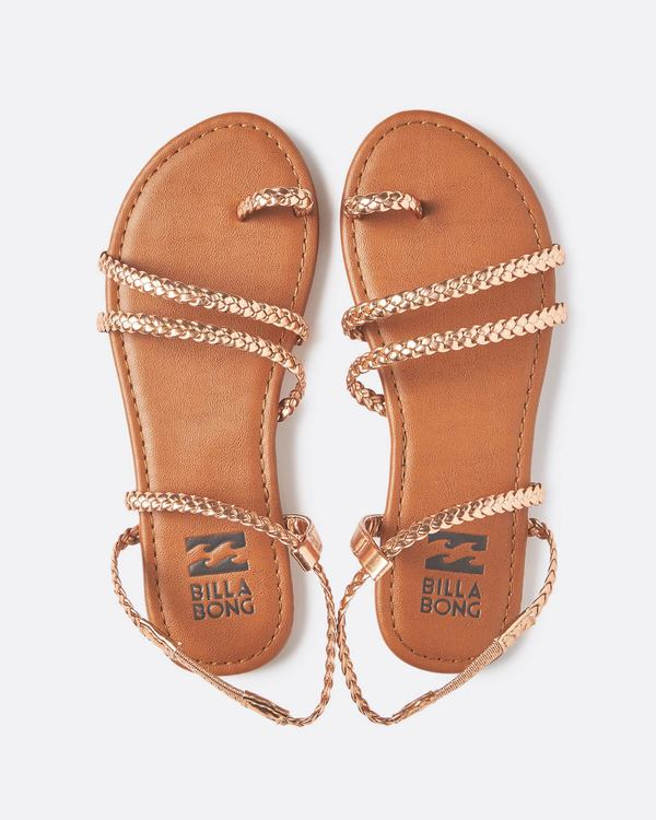 0 Summer Breeze Strappy Sandal  JFOTQBSU Billabong