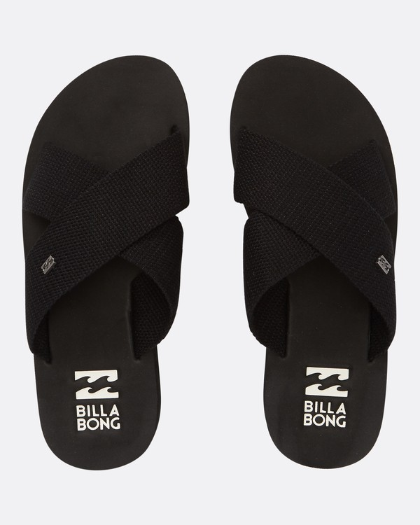 0 Boardwalk Sandals Black JFOTTBBW Billabong