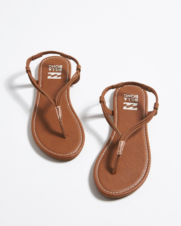 0 Strand Walk Sling Back Sandals Brown JFOTTBST Billabong