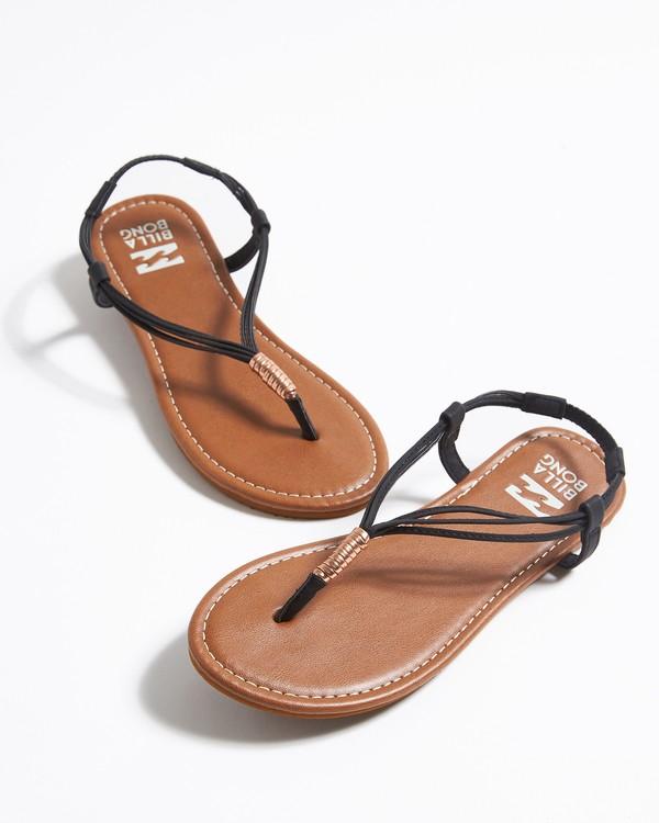 0 Strand Walk Sling Back Sandals Black JFOTTBST Billabong