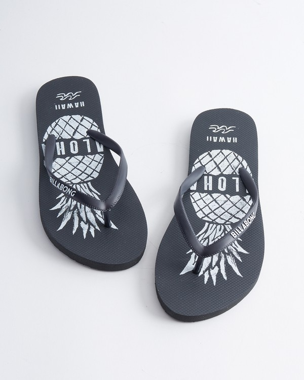 0 Hawaii Love Sandals Black JFOTUBHL Billabong