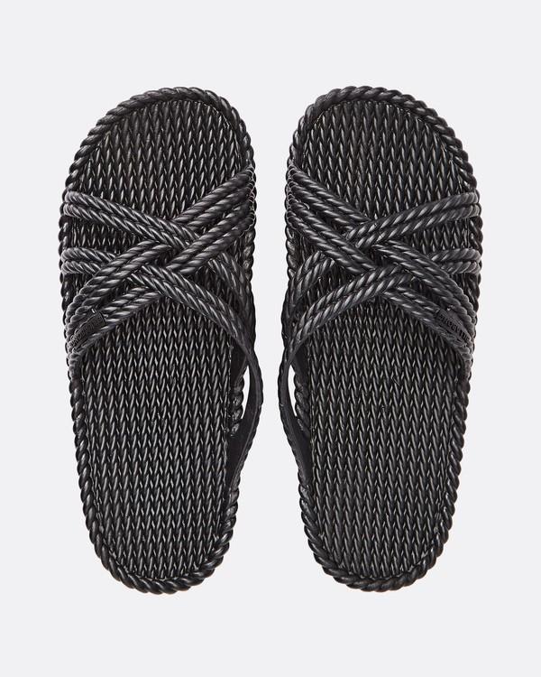 0 Slippin Slide Sandal Black JFOTUBSL Billabong