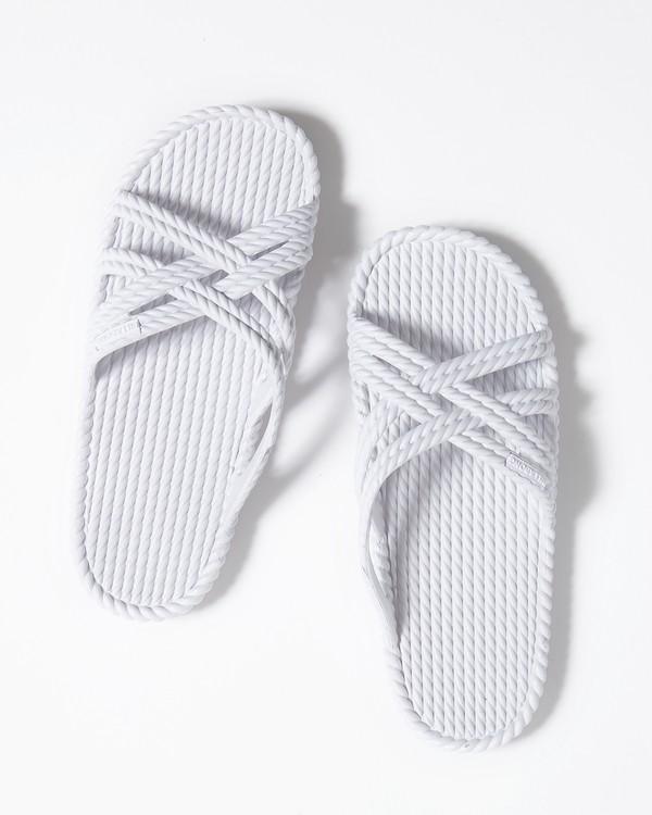 0 Slippin Slide Sandal White JFOTUBSL Billabong