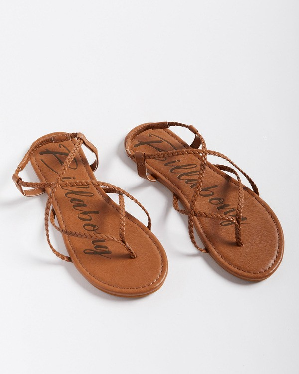 0 Crossing Over Sandal Brown JFOTVBCO Billabong