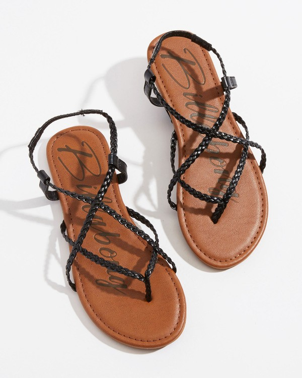 0 Crossing Over Sandal Black JFOTVBCO Billabong