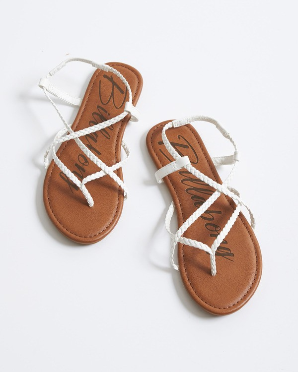 0 Crossing Over Sandal White JFOTVBCO Billabong