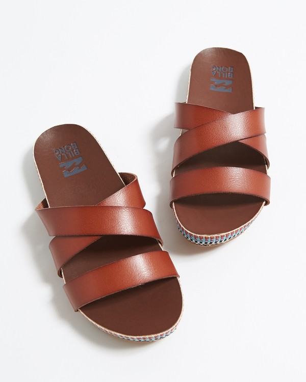 0 Wrap Me Up Sandal Brown JFOTVBWR Billabong