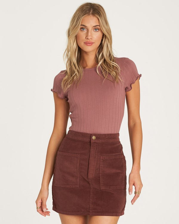 0 Magic Touch Skirt Purple JK05WBMA Billabong