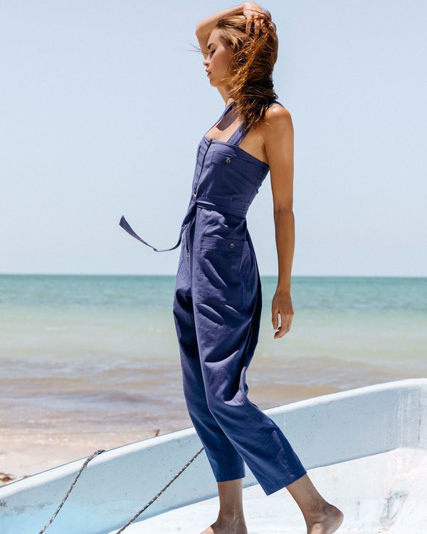 0 Light The Night Jumpsuit Blue JN03TBLI Billabong