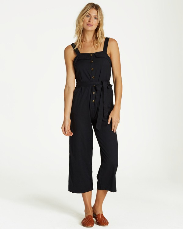 0 Sandy Toes Jumpsuit Black JN07VBSA Billabong