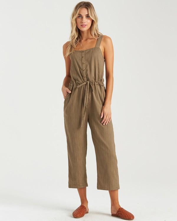 0 Sandy Shores Overalls Green JN083BSA Billabong