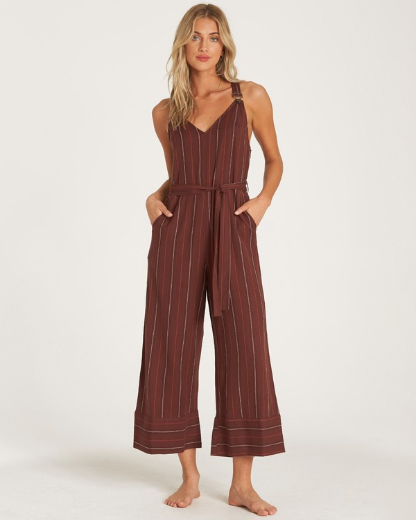 0 Bella Day Jumpsuit Purple JN17WBBE Billabong