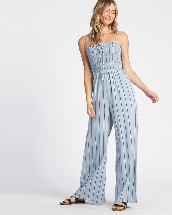 0 Forever Fields Jumpsuit Blue JN181BFO Billabong