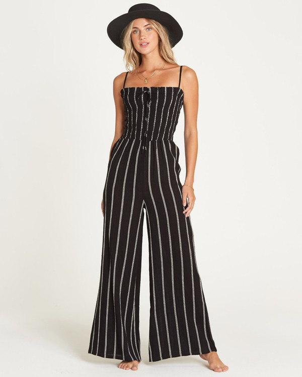 0 Forever Fields Jumpsuit Black JN18UBFO Billabong