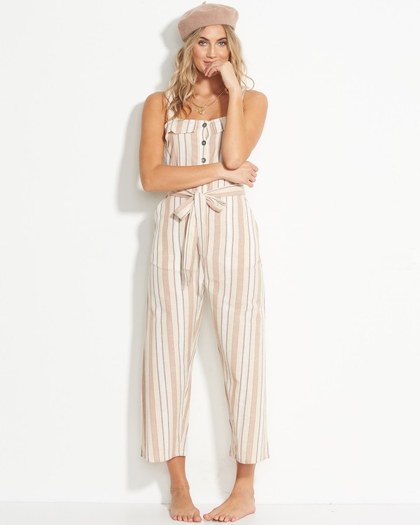 0 Sandy Toes Jumpsuit White JN18VBSA Billabong