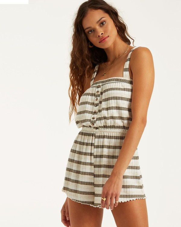 0 Move Free Romper Black JN402BMO Billabong