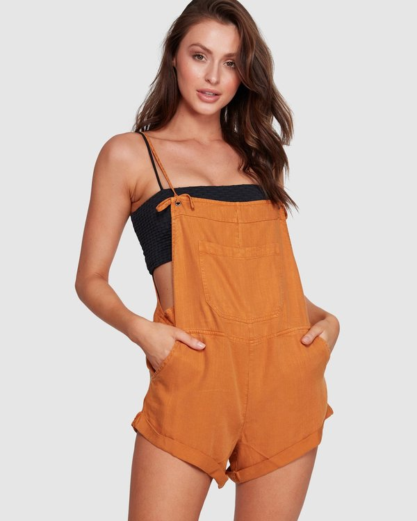 0 Wild Pursuit Overalls White JN40WBWI Billabong